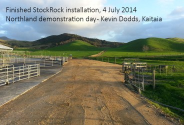 finished stockrock installation 4JULY2014